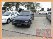 1998 Mitsubishi Triton MK GLX Black Manual 5sp M Cab Chassis for Sale