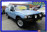 Classic 1993 Holden Rodeo TFG1 DLX (4x4) Blue Manual 5sp M Crewcab for Sale
