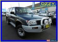 2000 Nissan Patrol ST (4x4) Blue Automatic 4sp A Wagon for Sale