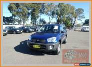 2001 Toyota RAV4 ACA21R Edge (4x4) Blue Automatic 4sp A Wagon for Sale