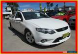 Classic 2009 Ford Falcon FG XR6 White Automatic 5sp A Utility for Sale