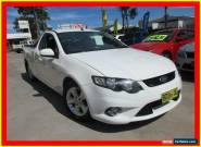 2009 Ford Falcon FG XR6 White Automatic 5sp A Utility for Sale