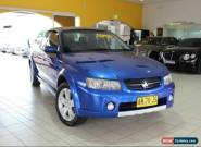 2005 Holden Crewman CROSSXTRAC DUAL FUEL VZ Blue Automatic A Utility for Sale