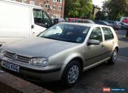 VOLKSWAGEN GOLF 2002 1.6L PETROL for Sale