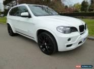 BMW X5 3.0d M-Sport Alpine White 2008 for Sale