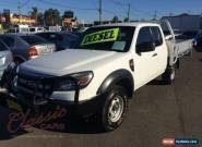 2010 Ford Ranger PK XL (4x4) White Manual 5sp M Super Cab Chassis for Sale