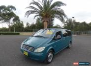 2004 Mercedes-Benz Vito 639 119P Green Automatic 5sp A Van for Sale