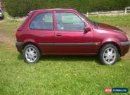 2001FORD FIESTA zetec 1.25  LOW MILES  069528K for Sale