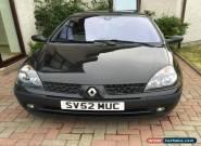 2002 RENAULT CLIO DYNAMIQUE DCI 65 BLACK - Spares or Repair for Sale