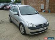 2001 Vauxhall Corsa 1.2 SXI 3 Door Silver *Only 78,000 Miles**Great Bodywork* for Sale