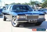 Classic 1984 Holden Statesman WB2 DE Ville Black Automatic 3sp A Sedan for Sale