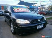 2003 Holden Astra TS CD Black Automatic 4sp A Hatchback for Sale