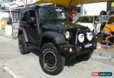 Classic 2007 Jeep Wrangler JK Renegade (4x4) Black Manual 6sp M Hardtop for Sale