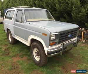 Classic Ford Bronco (4x4) (1984) 2D Wagon Automatic 4.1 6 cylinder  for Sale