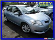 2008 Toyota Corolla ZRE152R Conquest Silver Automatic 4sp A Sedan for Sale