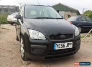 2006 FORD FOCUS LX 1.6 TDCI 90 BLACK ESTATE for Sale