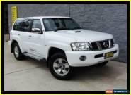 2012 Nissan Patrol GU Viii ST (4x4) White Automatic 4sp A Wagon for Sale