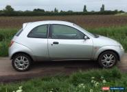 2002 FORD KA LUXURY SILVER MOT JANUARY 2017 for Sale