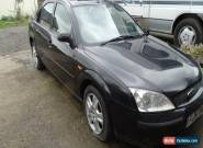2001 FORD MONDEO GHIA BLACK for Sale