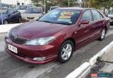 Classic 2003 Toyota Camry ACV36R Sportivo Maroon Automatic 4sp A Sedan for Sale