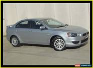 2011 Mitsubishi Lancer CJ MY11 ES Silver Manual 5sp M Sedan for Sale