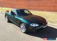 2001 Mazda MX-5 NB Manual 6sp M Convertible for Sale