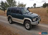 1999 Holden Jackaroo for Sale