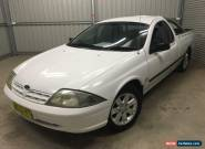 2002 Ford Falcon Auiii XL SE Manual 5sp M Utility for Sale