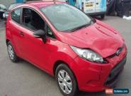 2012 FORD FIESTA STUDIO 1.2 PETROL LOW MILES DAMAGED REPAIRABLE  for Sale
