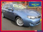 2008 Subaru Impreza MY09 RX (AWD) Blue Automatic 4sp A Hatchback for Sale
