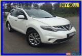 Classic 2013 Nissan Murano Z51 MY12 TI White Automatic A Wagon for Sale