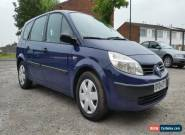 2004 RENAULT GRAND SCENIC AUTHENTIQUE DCI BLUE 1.5 DCI DIESEL 7 SEATER MPV for Sale