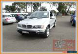 Classic 2003 BMW X5 E53 4.4I Silver Automatic 5sp A Wagon for Sale