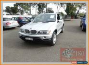 2003 BMW X5 E53 4.4I Silver Automatic 5sp A Wagon for Sale