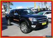 2011 Ford Ranger PK WILDTRAK Black Automatic 5sp A 4D UTILITY for Sale