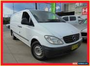 2004 Mercedes-Benz Vito 639 109CDI White Manual 6sp M Van for Sale