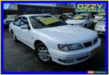 Classic 1998 Nissan Maxima A32 30S Touring White Automatic 4sp A Sedan for Sale