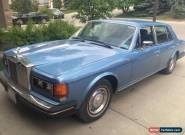 1987 Rolls-Royce Silver Spirit/Spur/Dawn for Sale