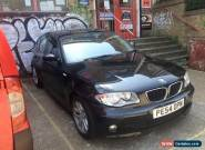 BMW 116i SPORT BLACK for Sale