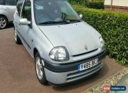 RENAULT CLIO 1.2  SILVER MOTED DEC 2016 NO RESERVE   for Sale