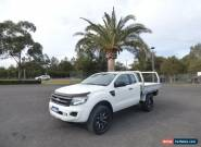 2012 Ford Ranger PX XL Hi-Rider White Automatic A 4D CAB CHASSIS for Sale