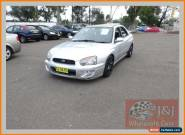 2004 Subaru Impreza MY04 RS (AWD) Silver Manual 5sp M Sedan for Sale