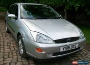 2001 FORD FOCUS 1.8 GHIA SILVER for Sale