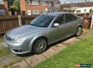 2005 FORD MONDEO ST TDCI SILVER for Sale