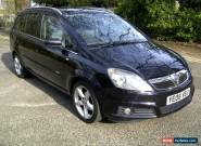 VAUXHALL ZAFIRA 1.8 SRI BLACK for Sale