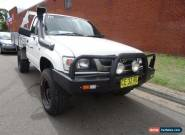 2004 Toyota Hilux VZN167R (4x4) White Manual 5sp M Cab Chassis for Sale
