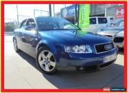 2003 Audi A4 B6 1.8T Blue Automatic A Sedan for Sale