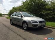 2005 FORD FOCUS ZETEC CLIMATE SILVER 1.6 3-DOOR **12 MONTHS MOT** for Sale