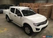 Mitsubishi Triton 2014 34km DIESEL AUTO 4x4 rear damage FARM USE  IDEAL EXPORT for Sale