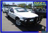 Classic 2004 Ford Falcon BA RTV White Automatic 4sp A Cab Chassis for Sale